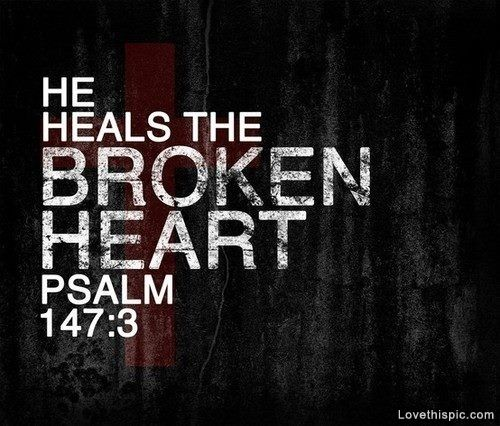 he heals the brokenheart