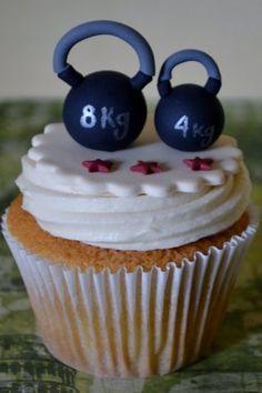 kettlebell-cupcake